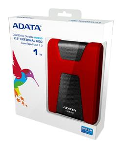 ADATA DashDrive Durable HD650 1TB External Hard Drive